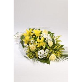 Large Flowers in Cellophane
